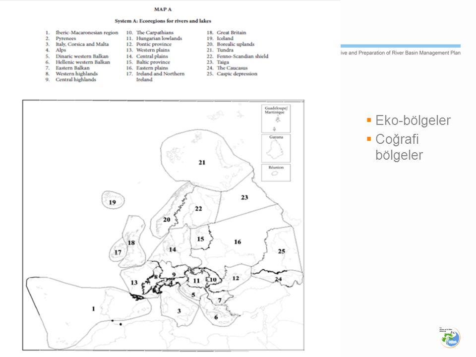 2. Physical  Eko-bölgeler  Coğrafi bölgeler
