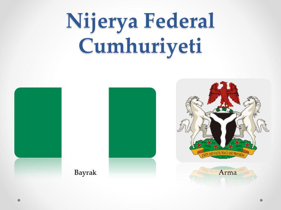 Nijerya Federal Cumhuriyeti BayrakArma
