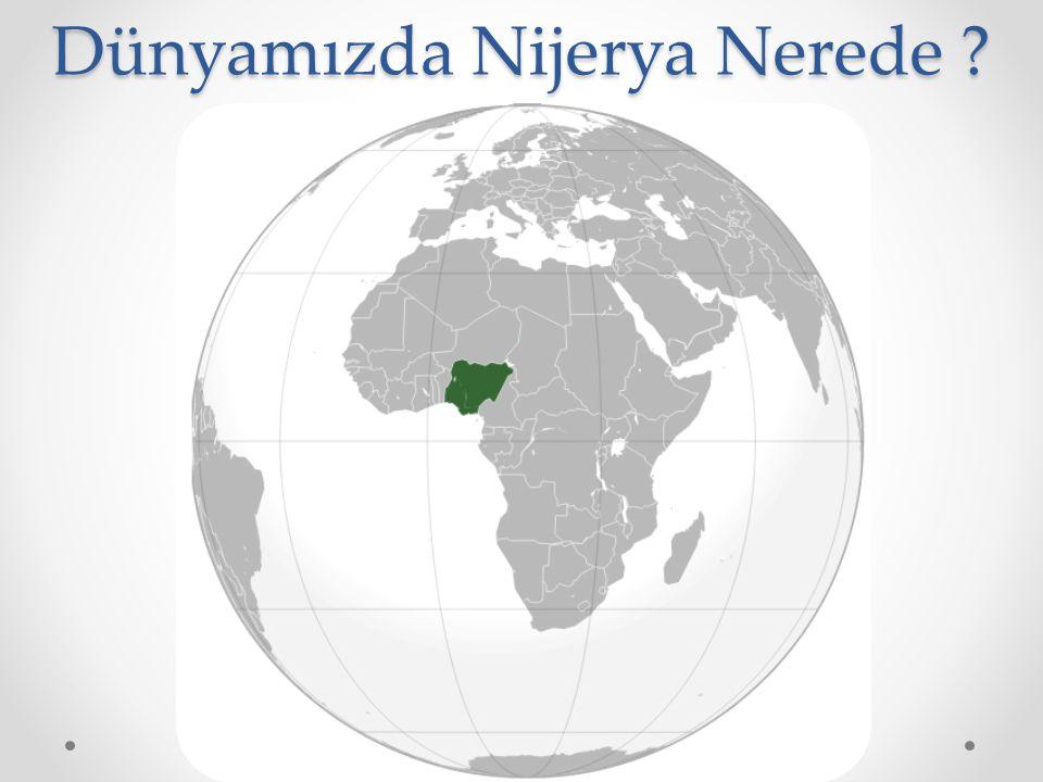 Dünyamızda Nijerya Nerede ?