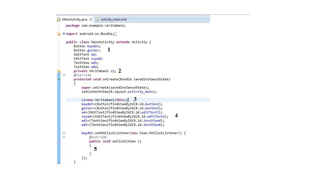 Bu dersimizde android uygulamaları için veritabanı kullanmamızı sağlayacak kendi java sınıfımızı ürettik.