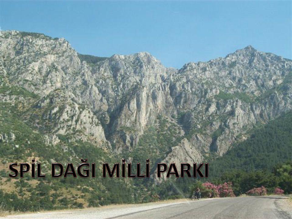 Spil Dağı Milli Parkı: Ege Bölgesi'nin Manisa ili sınırları içindedir.