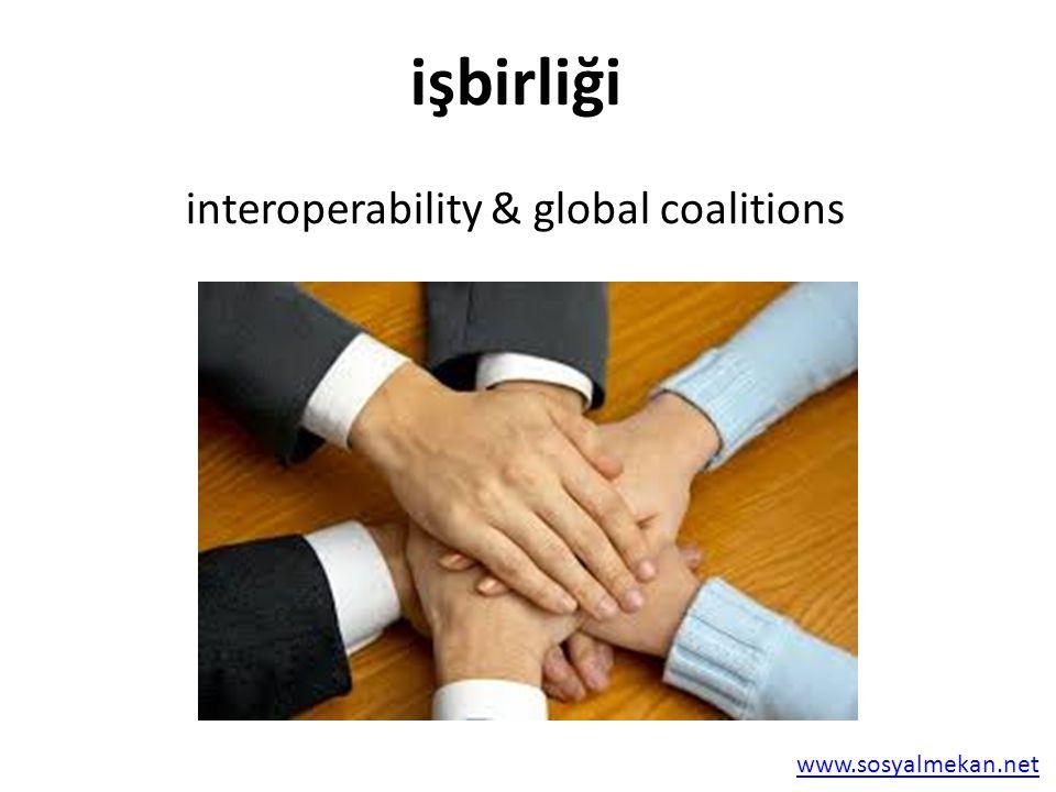 www.sosyalmekan.net işbirliği interoperability & global coalitions