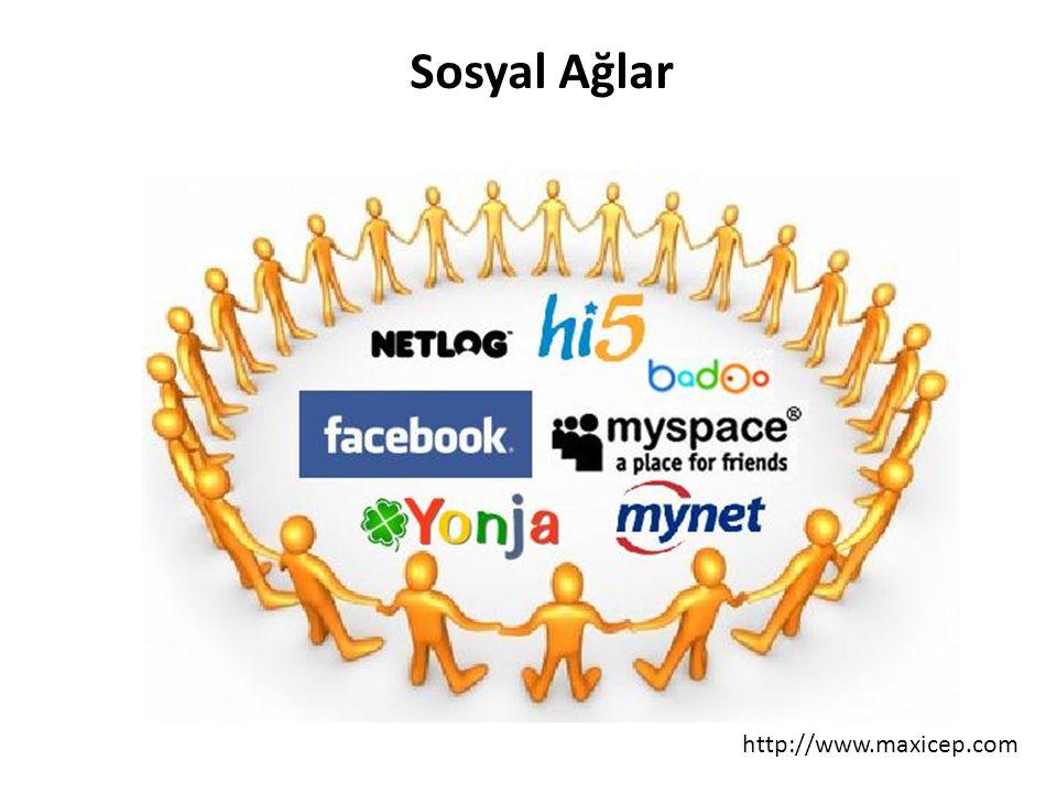 http://www.maxicep.com Sosyal Ağlar