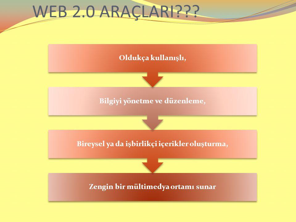 WEB 2.0 ARAÇLARI??.
