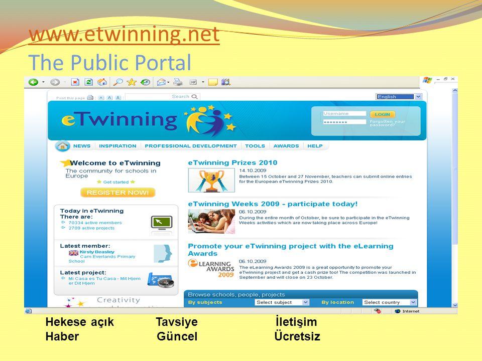 www.etwinning.net www.etwinning.net The Public Portal Hekese açık Tavsiye İletişim Haber Güncel Ücretsiz