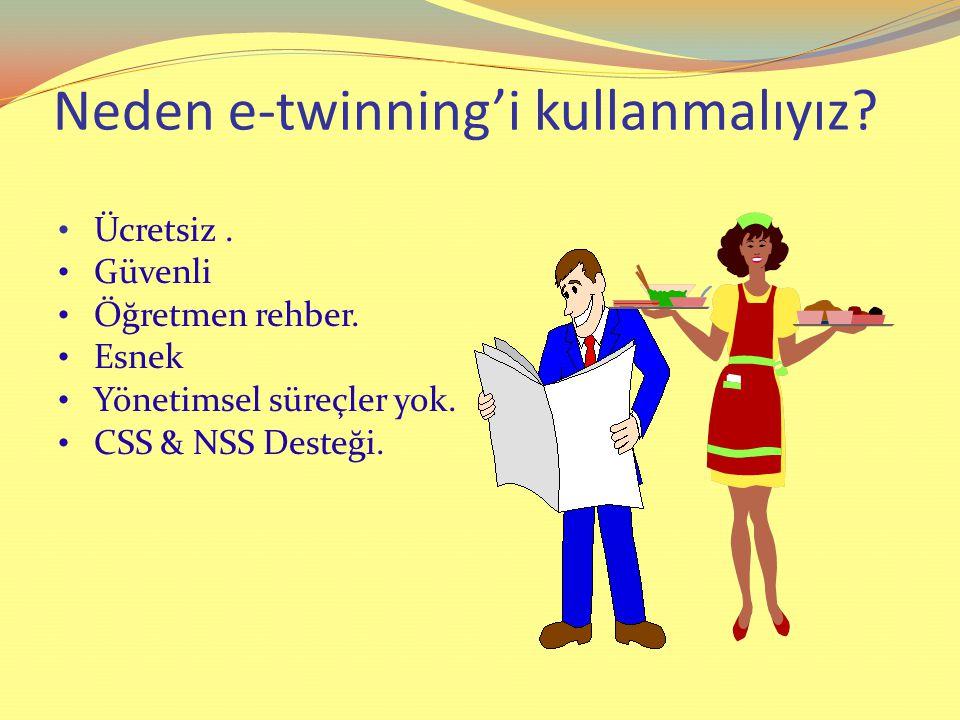 Neden e-twinning'i kullanmalıyız.Ücretsiz. Güvenli Öğretmen rehber.