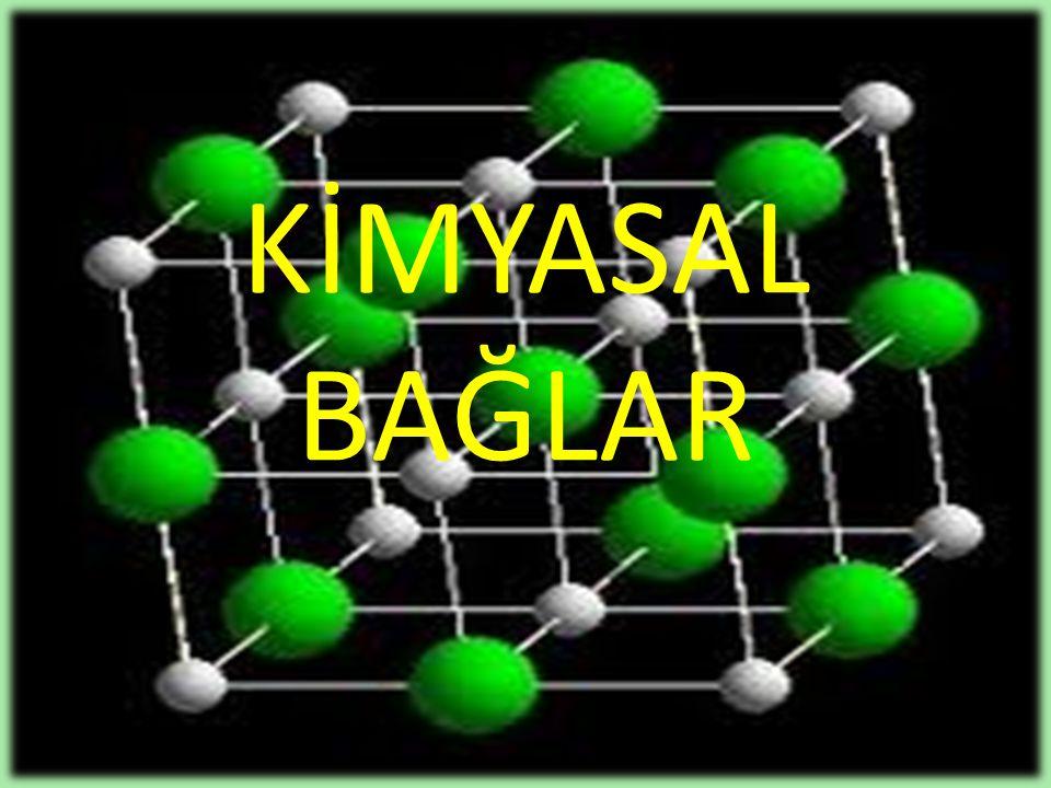 Atomlar birleştiği zaman elektron dağılımındaki değişmelerin bir sonucu olarak kimyasal bağlar meydana gelir.