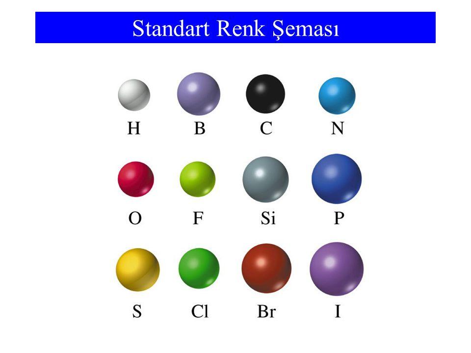 Bazı Moleküller H2O2H2O2 CH 3 CH 2 ClP 4 O 10 CH 3 CH(OH)CH 3 HCO 2 H