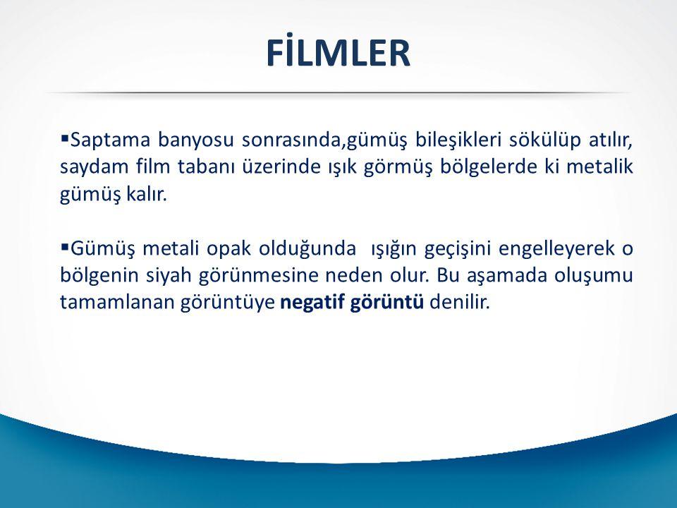 a)(Daylight)-Günışığı Filmler: Gün ışığında gerçeğe en yakın renklerde görüntü elde edilmesi amacıyla üretilmişlerdir.