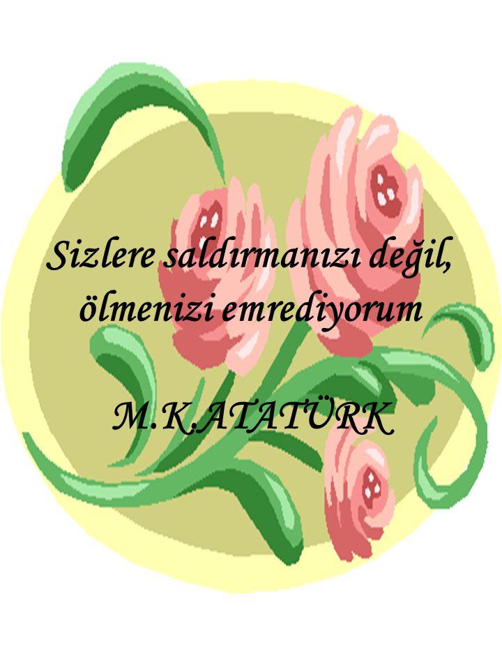 Yurtta sulh, cihanda sulh. Atatürk
