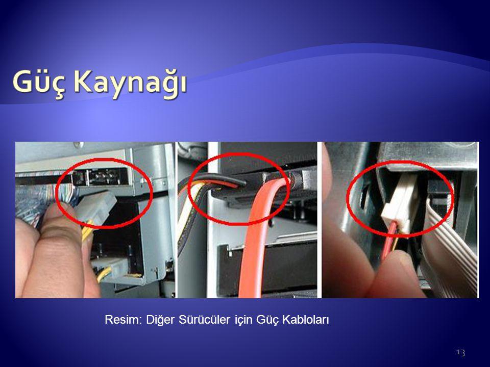 Resim: Diğer Sürücüler için Güç Kabloları 13