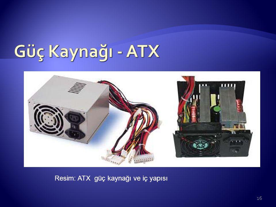 Resim: ATX güç kaynağı ve iç yapısı 16