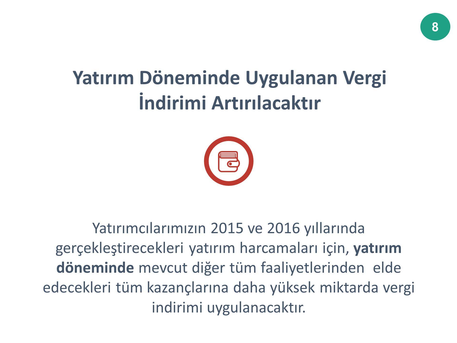 19 TBMM'de 26 Mart 2015 tarihinde kabul edilen Kanun ile öz sermaye ile finansmana vergi kolaylıkları getirilmiştir.