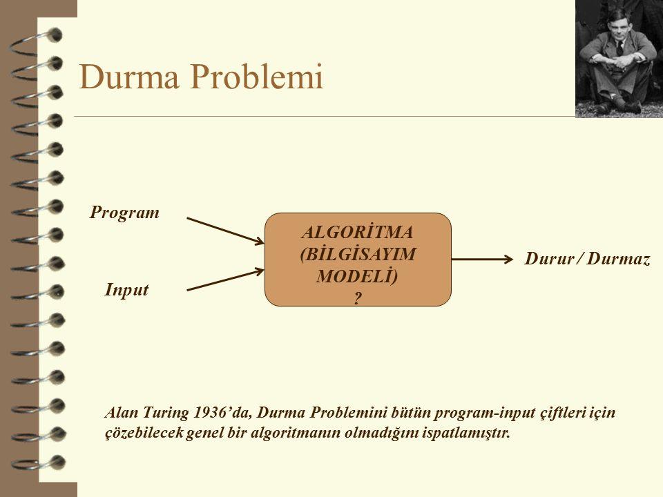 Chomsky Hiyerarşisi Otomatlar Turing Machine ATN RTN Diller FSA Düzenli Diller Bağlamdan-bağımsız Bağlama-duyarlı R.E.