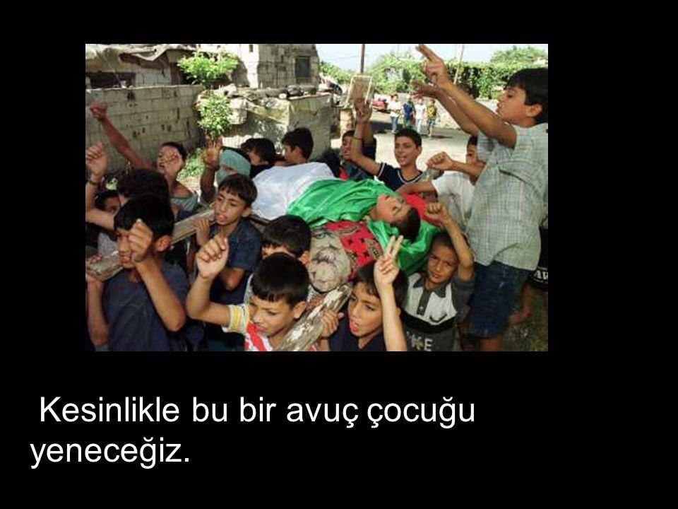 Onların hepsini öldüreceğiz, Barak konuştu….