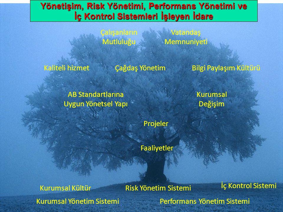"""10 """" Performans Yönetim Sistemi Risk Yönetim Sistemi İç Kontrol Sistemi Kurumsal Yönetim Sistemi Kurumsal Kültür AB Standartlarına Uygun Yönetsel Yapı"""
