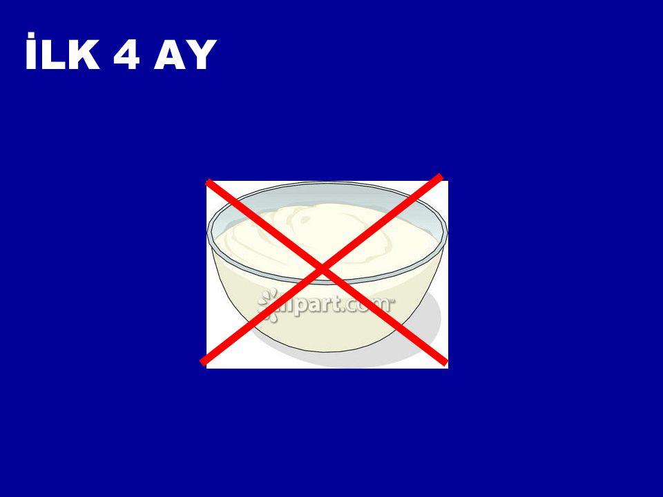 İLK 4 AY