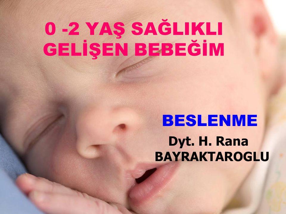 Doğum öncesi anne karnında Çocukluk Gençlik Yetişkin Yaşlılık BESLENME