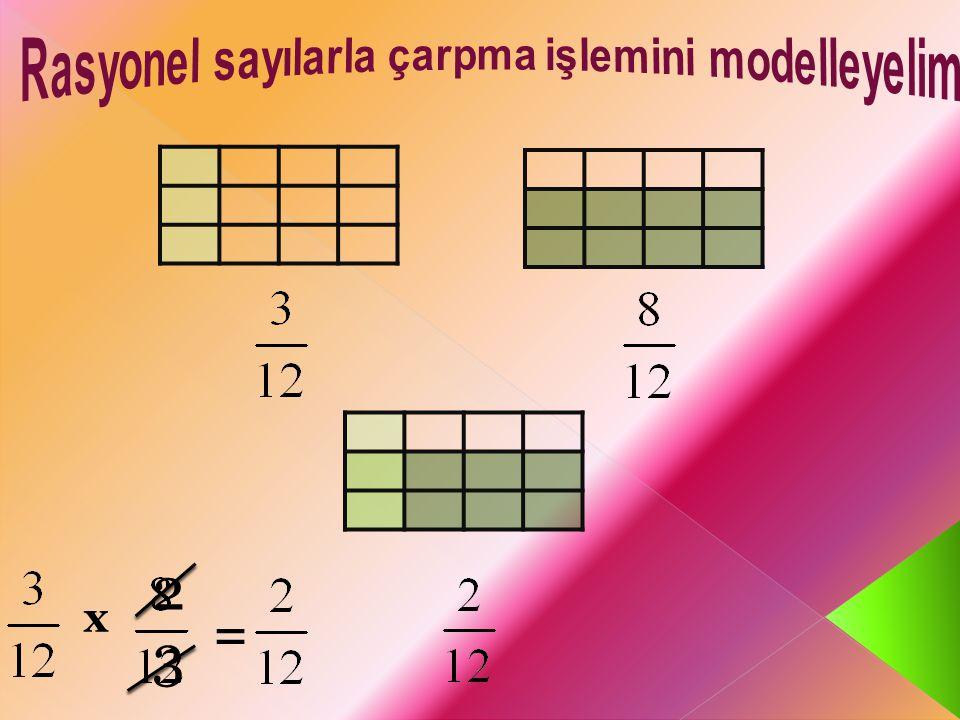 x = 2 3