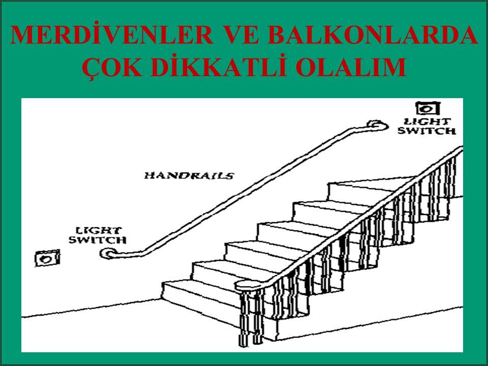 / 486 MERDİVENLER VE BALKONLARDA ÇOK DİKKATLİ OLALIM