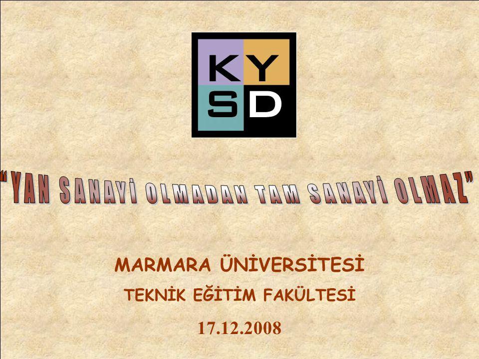MARMARA ÜNİVERSİTESİ TEKNİK EĞİTİM FAKÜLTESİ 17.12.2008