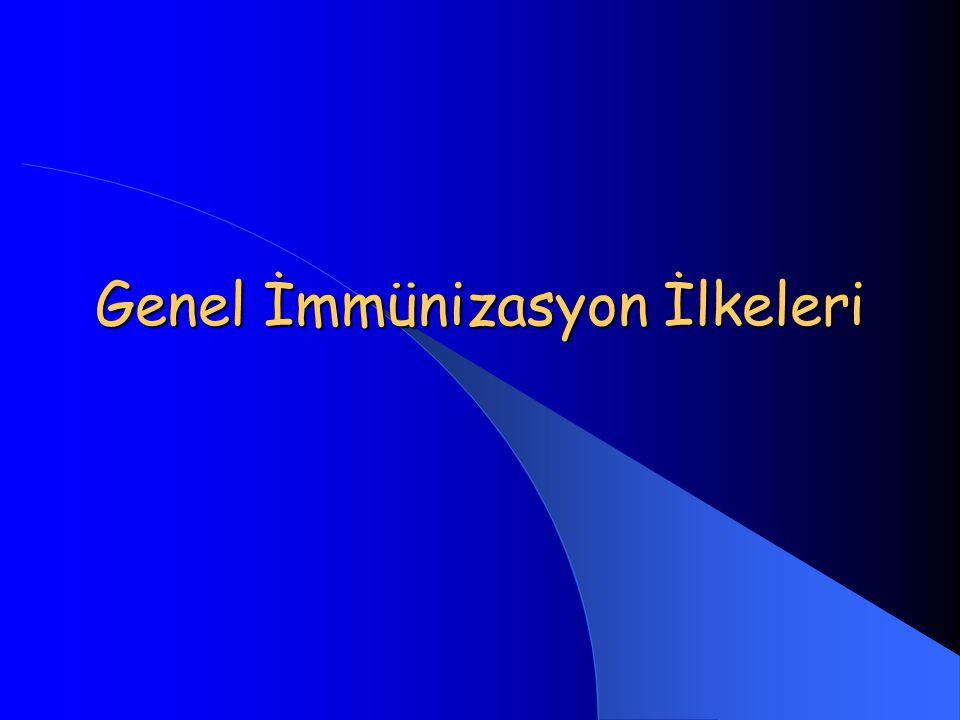 Aşıların Temel Komponentleri 1.Aktif immünite oluşturan antijen 2.