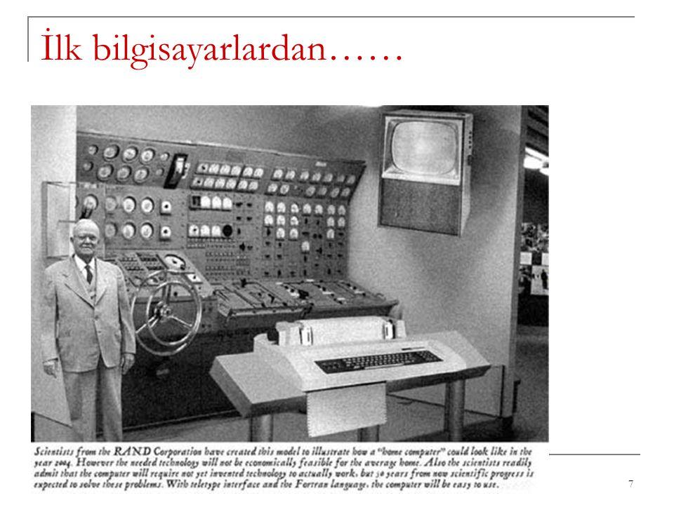 İlk bilgisayarlardan…… 7