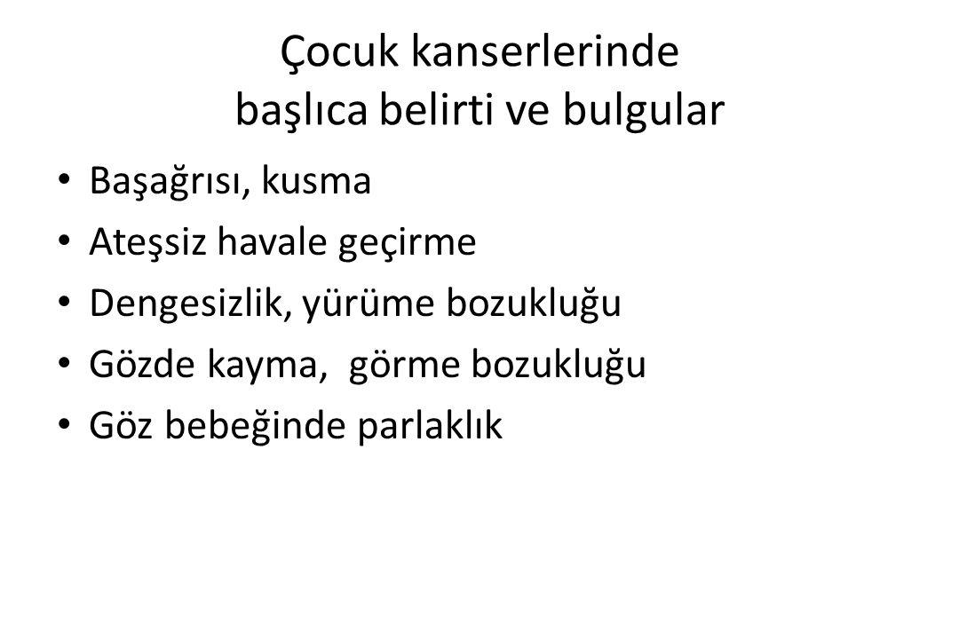 OPTİC GLİOMA Kebudi R,Upadhyaya M,Tuncer S,et al.