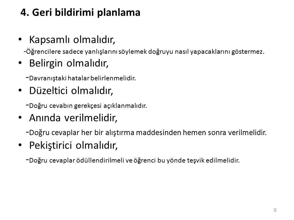 ÜSTÜNLÜKLERİ 6.