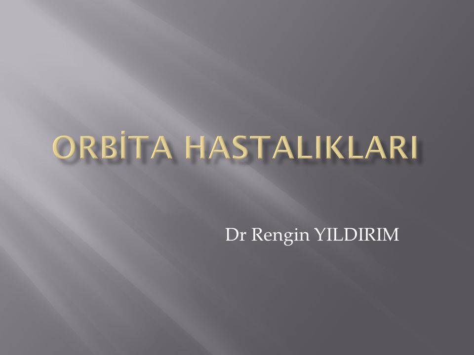 Dr Rengin YILDIRIM