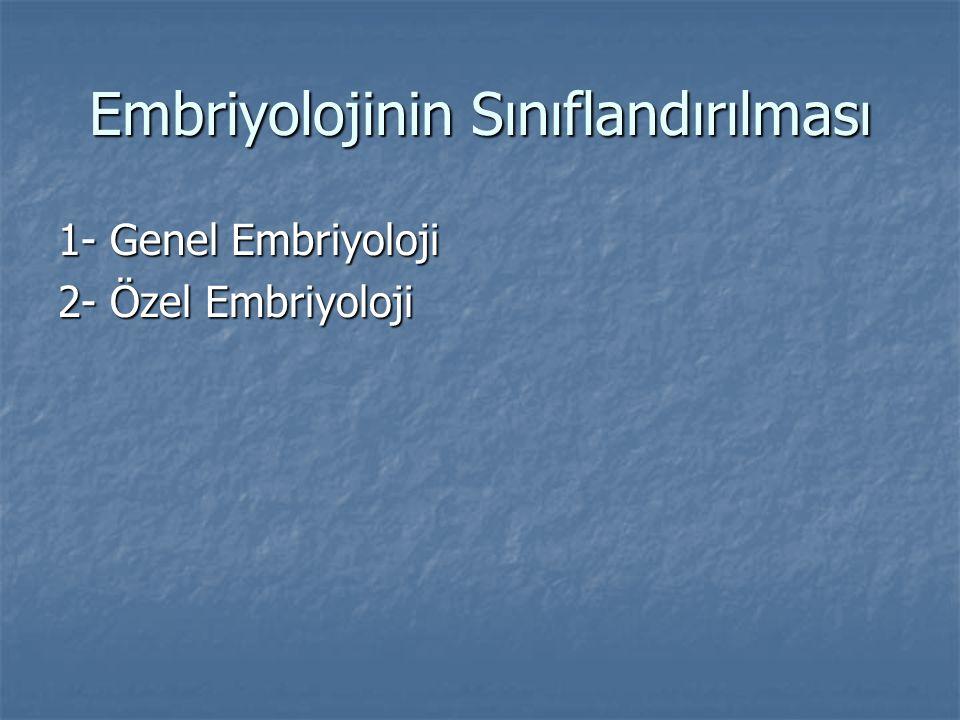 Embriyonik Terimler Oosit: Ovaryumda üretilen dişi germ(cinsiyet) veya seks hücresidir.