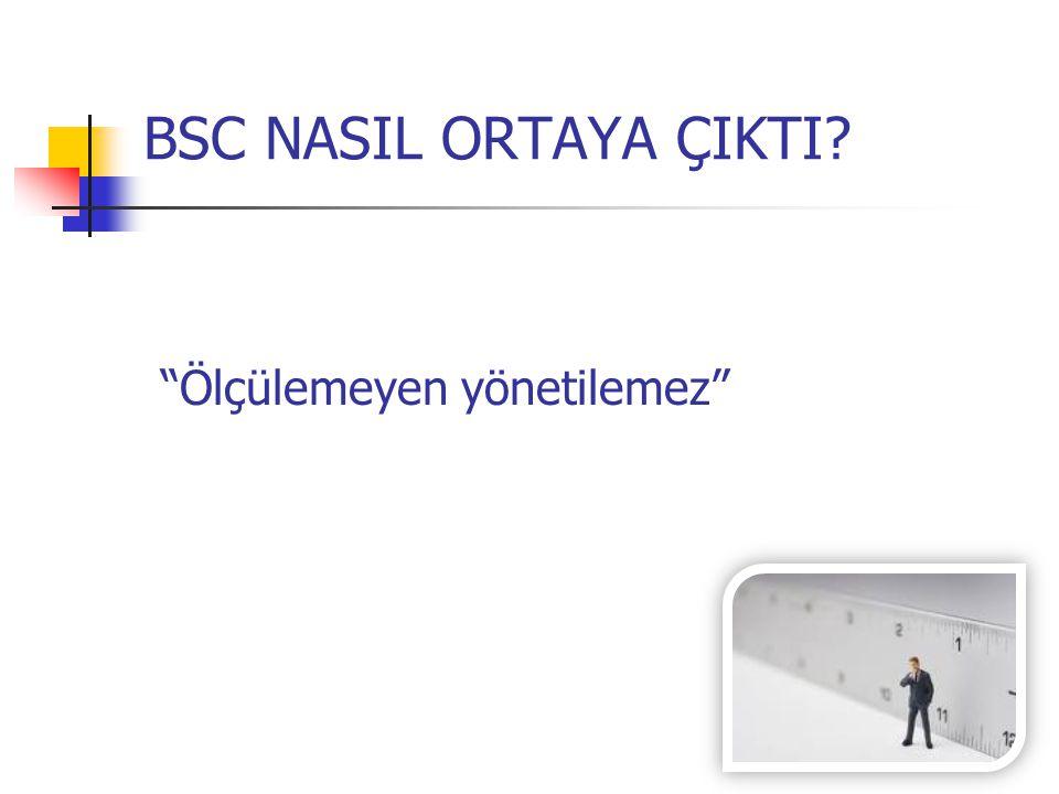 """BSC NASIL ORTAYA ÇIKTI? """"Ölçülemeyen yönetilemez"""""""