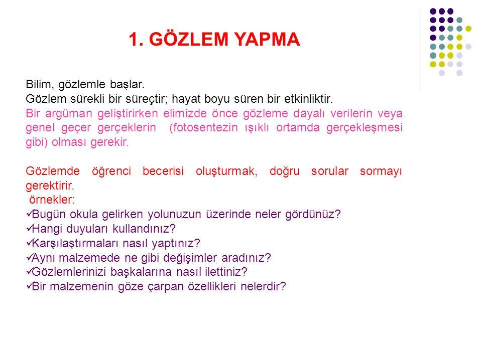 ETKİNLİK 1.