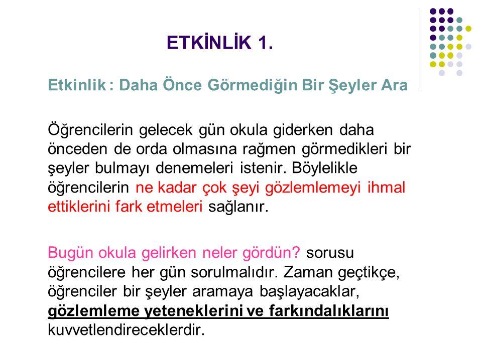 ETKİNLİK 2.