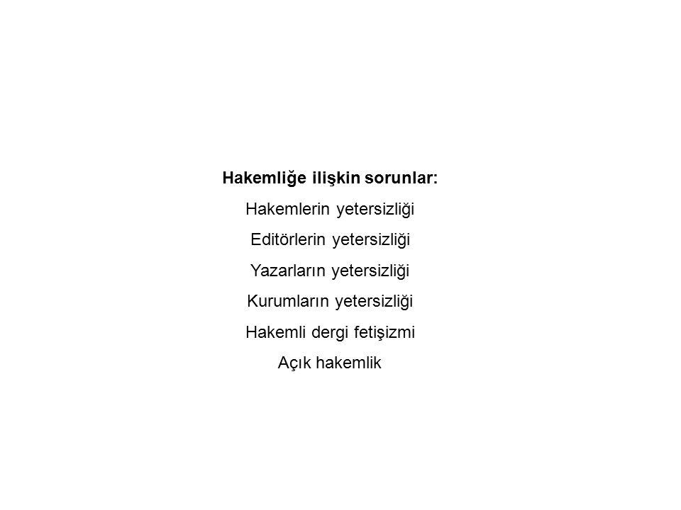 Dergi AdıGelen Toplam Yazı Yayımlanan Toplam Yazı Yayımlanan / Gelen Oranı Akdeniz İletişim 110440.40 Kİ (Ankara)41220.54 Selçuk İletişim 127850.67