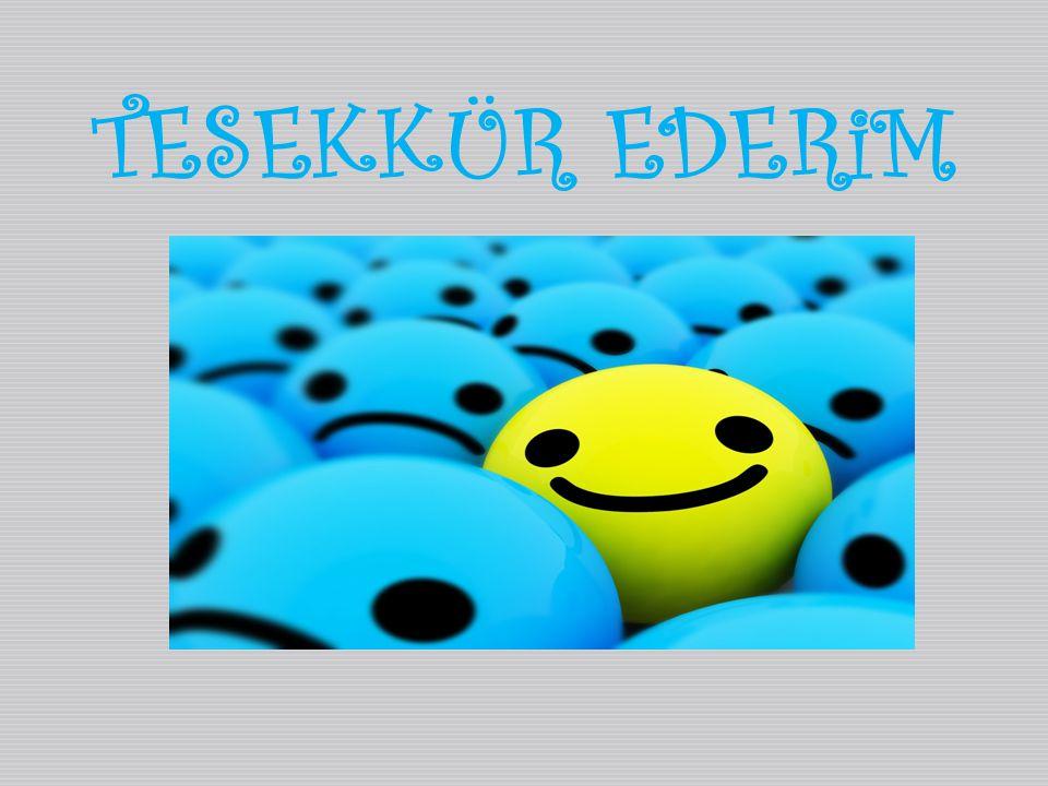 TESEKKÜR EDERiM