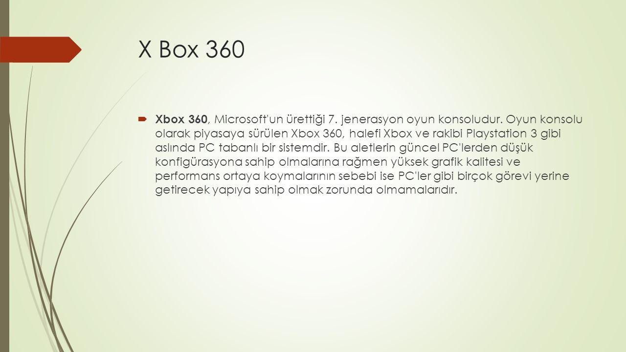 X box One İle(3)  Surface Farkı X box One ı Surface a bağlama ve ana televizyon başka işlerle meşgul olduğunda Surface ı kullanma özelliği mevcut.