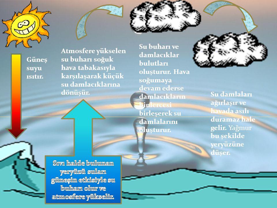 Esra AYDİN Fen ve Teknoloji Güneş suyu ısıtır.