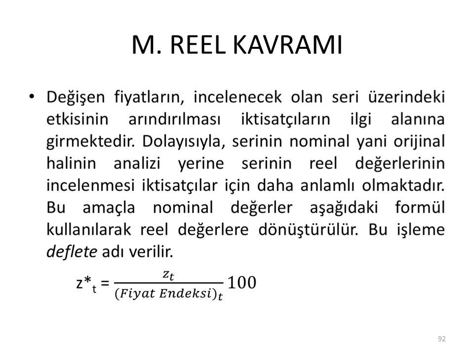 M. REEL KAVRAMI 92