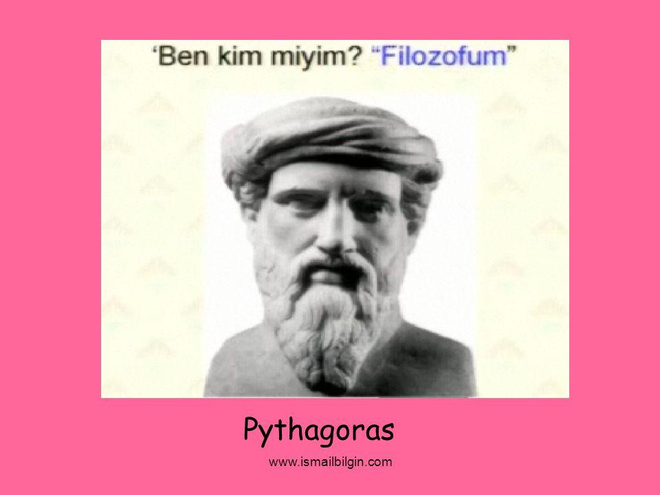 www.ismailbilgin.com Pythagoras