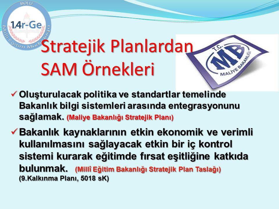 Oluşturulacak politika ve standartlar temelinde Bakanlık bilgi sistemleri arasında entegrasyonunu sağlamak. (Maliye Bakanlığı Stratejik Planı) Oluştur