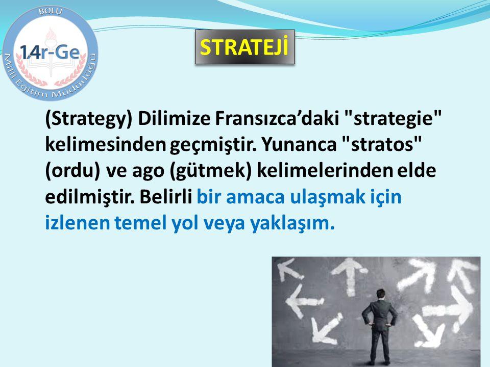 (Strategy) Dilimize Fransızca'daki