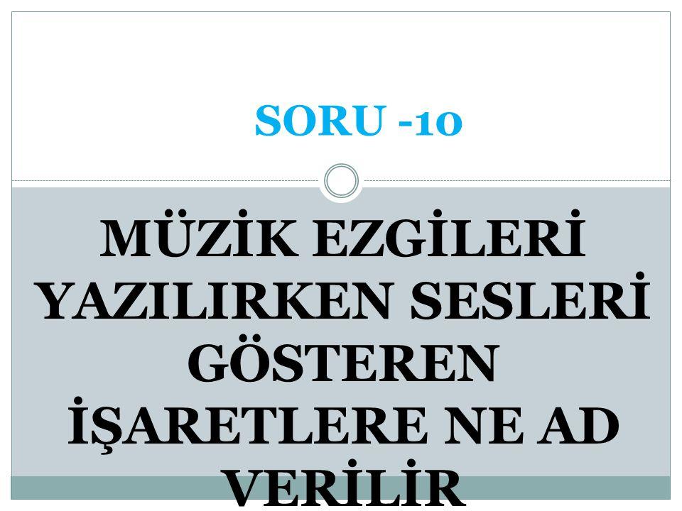DEBİ CEVAP -9