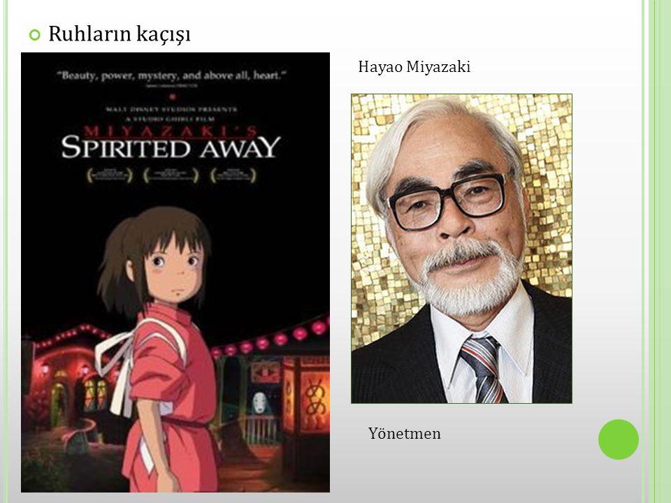 Ruhların kaçışı Hayao Miyazaki Yönetmen