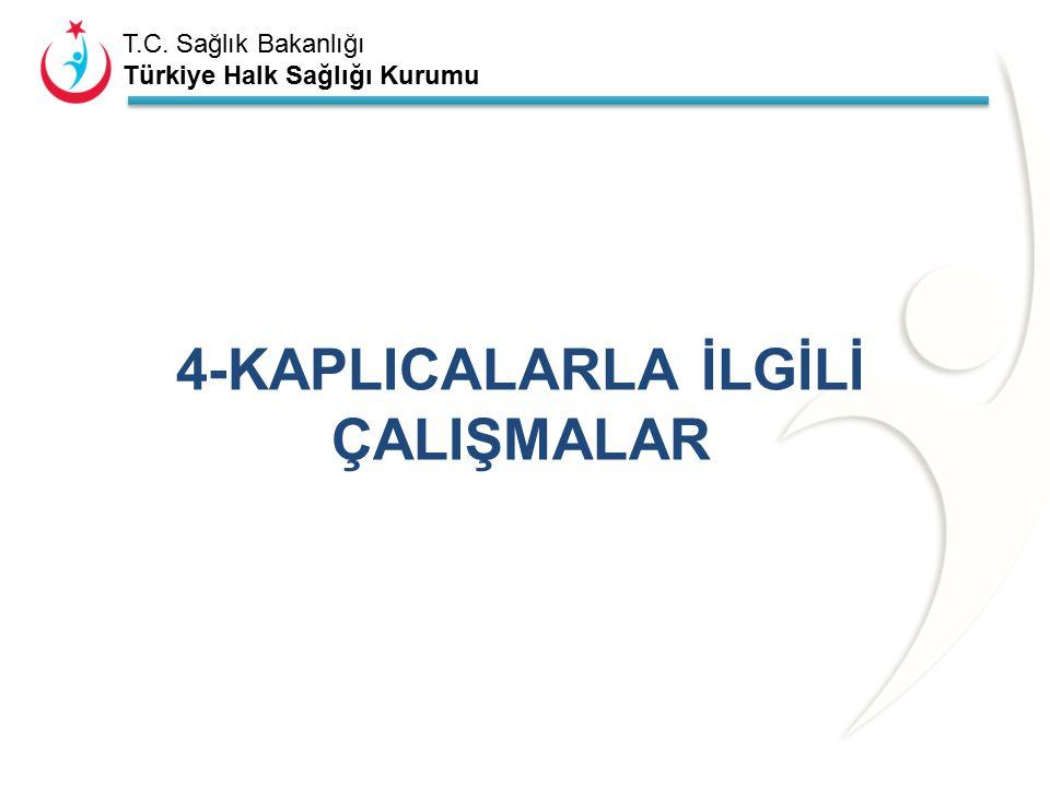 T.C. Sağlık Bakanlığı Türkiye Halk Sağlığı Kurumu Tablo 3.6. Ambalajlı sular 2014 yılı PGD çalışmaları. (İlçelerin tamamını yazacak kadar satır ya da