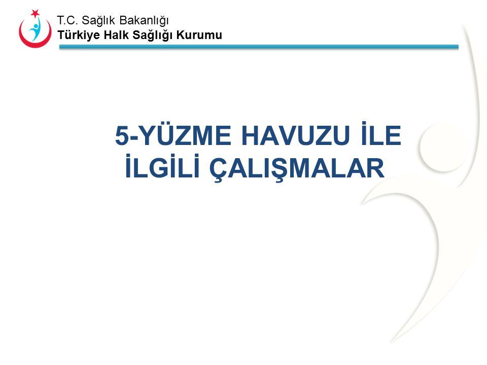 T.C. Sağlık Bakanlığı Türkiye Halk Sağlığı Kurumu Tablo 4.1. 2014 yılı kaplıcalara yönelik çalışmaları. (İlçelerin tamamını yazacak kadar satır ya da