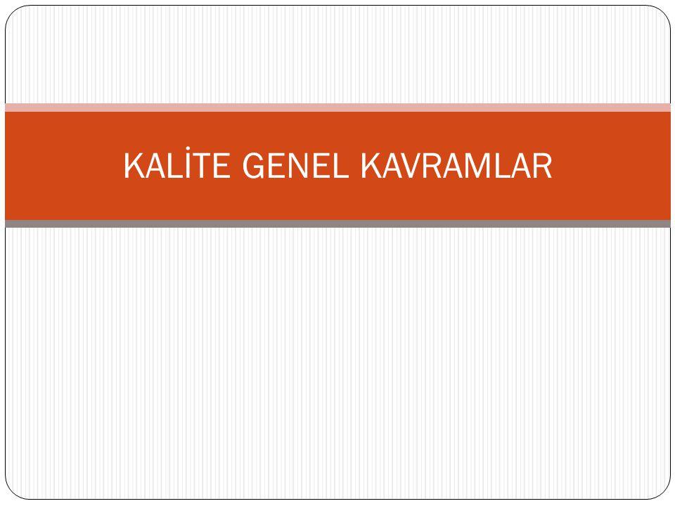 KURULUŞ-II Yeterli niteliklere ve yetkilere sahip idari ve teknik personel Teknik Sorumlu Kalite Yöneticisi Vekiller Dr.