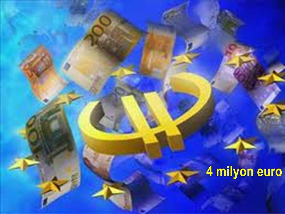 4 milyon euro