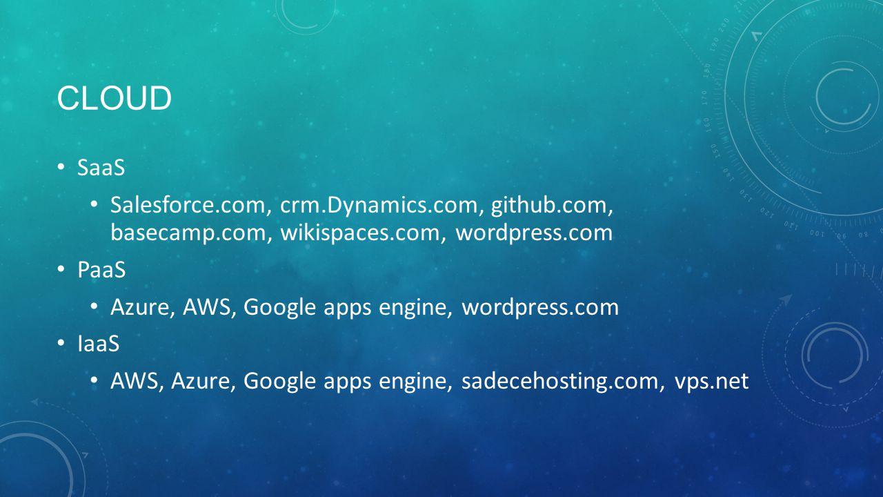 ARAÇLAR wikia.com, wix, wikispaces.com… Django, Ruby, webmatrix… cloudbees.com, cloud foundry (Vmware), heroku.com… Google drive, dropbox, skydrive…