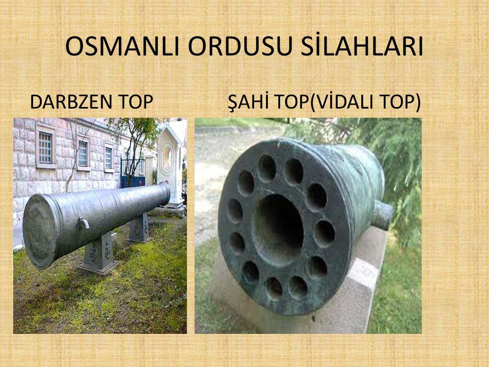 OSMANLI ORDUSU SİLAHLARI DARBZEN TOP ŞAHİ TOP(VİDALI TOP)